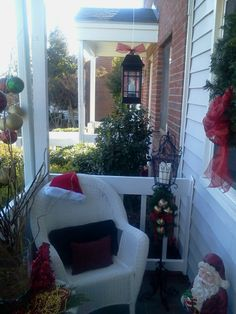 Front Porch Christmas 2013
