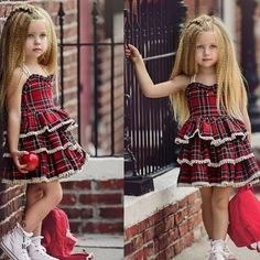 Baby Pageant Dresses, Baby Girl Party Dresses, Little Girl Dresses, Girls Dresses, Toddler Fashion, Kids Fashion, Baby Girl Dress Patterns, Toddler Dress, Kids Outfits