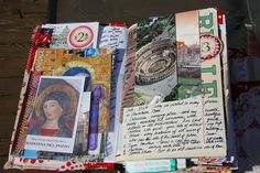 Cool Spain/Italy Travel Journal by kristiwl, via Flickr