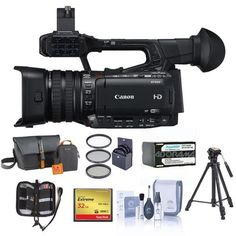Introducing Canon XF205 High Definition Pro 1080p Camcorder 20x Optical Zoom Bundle With Video Bag 32GB Compact Flash Card Tripod Spare Battery 58mm Filter Kit Cleaning Kit Memory Wallet. Great Product and follow us to get more updates!