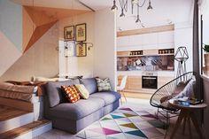 Tágas, szervezett, stílusos – ami egy 40 négyzetméteres lakásból kihozható