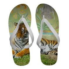 Tiger Sandals