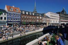 Downtown Aarhus, Super cool town!