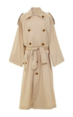 Cotton-Sateen Trench Coat by Tome Now Available on Moda Operandi