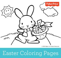 Grab the crayons and get ready for the Easter Bunny's visit with these printable coloring pages for kids!