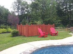 Pool equipment enclosure