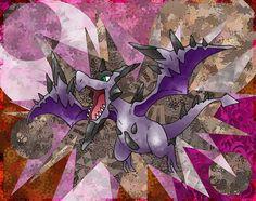 Mega Aerodactyl by Macuarrorro.deviantart.com on @DeviantArt. #Pokemon #MegaAerodactyl #fanart
