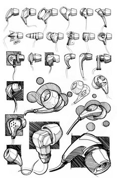 sketching by Patrick Murphy