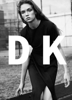 Adrienne Jüliger stars in DKNY's spring-summer 2016 campaign by Lachlan Bailey [campaign]