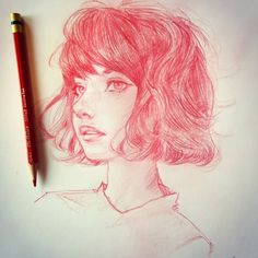 Pinup Arena • melmilton: This mornings portrait dook.. keep on...