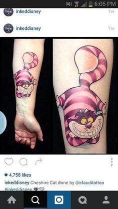 Cheshire cat tattoo More