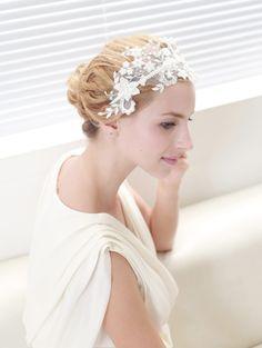 Beaded Lace Headband