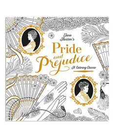 Another Great Find On Zulily Pride And Prejudice A Coloring Classic By Random