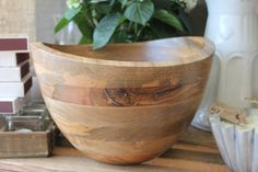 Stunning Mango Wood Bowl
