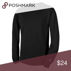 Photos to come! Black Champion Long Sleeve Tee Logo on Sleeve. Good Basic for winter. I am very open to offers but please remember to be reasonable. Please go ahead and send an offer I dont bite! 😁If you would like discounted shipping just let me know in the comments.  🔘PLEASE NO TRADES- NO P PA L- NO MRCRI!!! Champion Shirts Tees - Long Sleeve