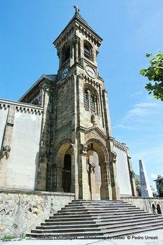 Iglesia de San Ignacio, años 80 (Foto: © Pedro Urresti) (ref. 06827)