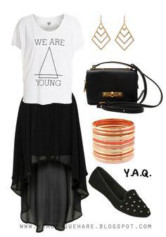 Y. A. Q. - Blog de moda, inspiración y tendencias: [Y ahora qué me pongo con] Una falda asimétrica