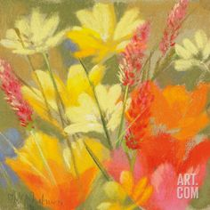 Field of Delight Art Print by Nel Whatmore at Art.com