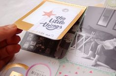 cool project life flip card