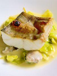 【店名】カラペティ・バトゥバ http://www.byoclub.net/search/detail/257 【料理】アイナメの炙り春貝のブールブランソース 【おすすめマリアージュ】