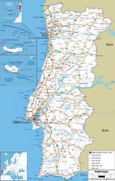 Road map of England Lernen Pinterest