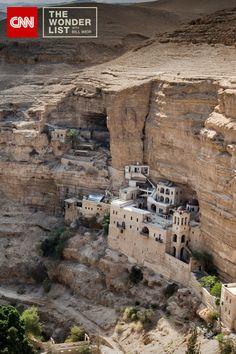 El Monasterio de San Jorge en la colina de Israel.