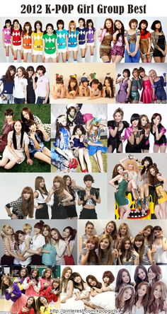 K-POP Girl Group Best 2012 /   SNSD, Wonder Girls, 2NE1, Kara, MissA, Sistar, Fx, Brown Eyed Girls, 4Minute, Secret, Rainbow, After School, Apink, Girl's Day, Dalshabet