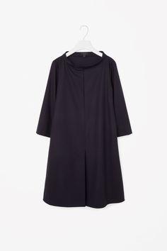 COS | Wide-neck wool dress