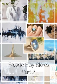 ETSY 12 FOR TUESDAY (FAVORITE ETSY SHOPS FOR HOME DECOR, PART 2)