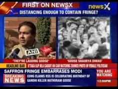 #KillingGandhi: Congress claims RSS celebrating Nathuram Godse birthday