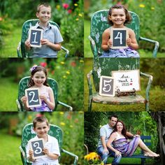 Pregnancy announcement with siblings- Jayde & Jayne photography, Atlanta