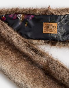 Joules Colette Womens Faux Fur Scarf Reindeer Country Style, My Style, Joules Uk, Womens Scarves, Reindeer, Faux Fur, Typography, Slim, Unique