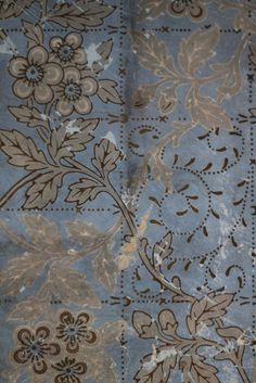 Faded Wallpaper in Calke Abbey | Flickr - Photo Sharing!