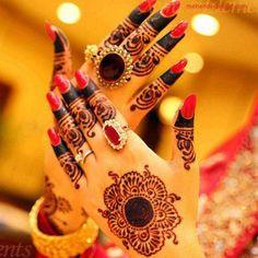 Eid Mehndi-Henna Designs for Girls.Beautiful Mehndi designs for Eid & festivals. Collection of creative & unique mehndi-henna designs for girls this Eid Pretty Henna Designs, Mehndi Designs For Girls, Mehndi Design Images, New Bridal Mehndi Designs, Beautiful Mehndi Design, Best Mehndi Designs, Henna Tattoo Designs, Henna Tattoos, Tattoo Ideas