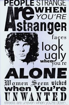 THE DOORS...Jim Morrison was a MASTER of lyrics. There will never