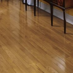 "Fulton 3-1/4"" Solid White Oak Hardwood Flooring in Spice"