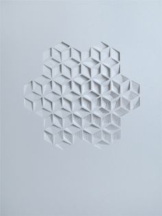 Matt shlian, Paperwork, sculpture