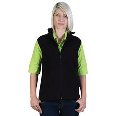 Show details for Belle Fleece - Sleeveless Athletic, Jackets, Fashion, Down Jackets, Moda, Athlete, Fashion Styles, Deporte, Jacket