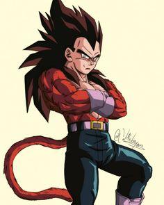 """Mi piace"": 2,466, commenti: 22 - FollowMe😉 (@dragonball_episodes) su Instagram: ""Ssj 4 Vegeta Follow➡️ @dragonball_episodes ⬅️for more . C2 @cat.destroyer  #goku #vegeta #gogeta…"" Dragon Ball Gt, Dragon Ball Image, Evil Goku, Twilight Wolf, Power Rangers, Joker Pics, Dragon Images, Popular Anime, Anime Shows"
