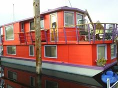 I would love to own a houseboat. A floating cottage is my dream.