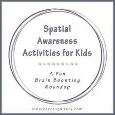 Spatial Awareness Activities for Kids - A Fun Brain Boosting Roundup Visual Motor Activities, Visual Perceptual Activities, Sensory Activities, Therapy Activities, Activities For Kids, Sensory Rooms, Dyslexia Activities, Play Activity, Visual Learning