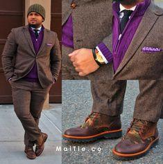 http://bigguyflyy.tumblr.com for big guy fashion! bamjones: Dennis DeJesus, CEO of MaiTie.co. See more at Suit & Fly!.