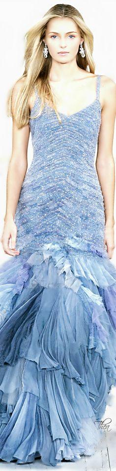 Gorgeous Ralph Lauren gown. Via @kamarobb78. #gowns #RalphLauren