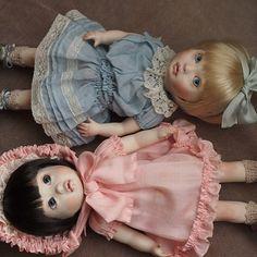 「ペパーミントパティ」と「ことりビスク」#doll #創作人形 #bisquedoll #bjddoll #球体関節人形 #kawaii #dollstagram