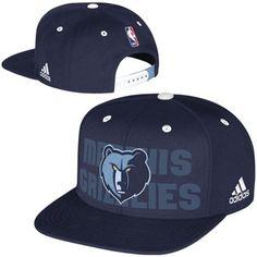 518ab602ddd Memphis Grizzlies adidas 2014 NBA Draft Authentic Snapback Hat - Navy Blue. Miami  HeatGolden ...