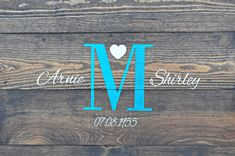 Excited to share this item from my shop: Anniversary Gift, Personalized Wood Wall or Mantel Decoration, Newlywed Housewarming Gifts, Custom Colors, Monogram Home Decor and Gifts Wood Guest Book, Rustic Wedding Guest Book, Rustic Wedding Signs, Guest Book Sign, Wedding Book, Auntie Gifts, Niece Gifts, Bff Gifts, Friend Gifts