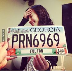PRN 6969 -  state given license plate number