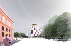 Bolles + Wilson - Masterplan Korça City Centre