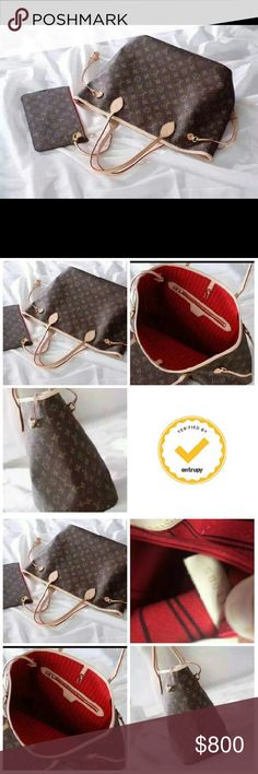 100% Authentic Louis Vuitton Neverfull Cherries 100% Authentic Louis Vuitton Neverfull Cherries MM Also have to a few other authentic pieces right now just sorta sharing my bags for interested parties email rowelaura444@gmail.com  Sorry that they remove this considering my pieces are verified and certified authenticated by entrupy 800$ bag only 400 pochette We can discuss full set Comes with packaging original to bag and some have receipts All are purchased from Elady in Japan are pre owned…