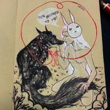 Image result for chiara bautista, The Cosmic Wolf and the Bunny Girl